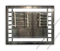 Зеркало с LED подсветкой, 800х600мм, L24, фото 1