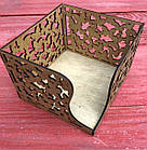 Деревянная салфетница Бабочка (Р-137)