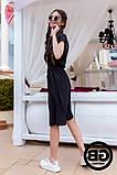 Платье-рубашка на застежках кнопки, накладные карманы и поясок затяжка, 3 цвета р.S, M, L код 2-2243G, фото 10