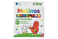 Штампы-фломастеры волшебные меняющие цвет MALINOS Stempelzauber 9 (9+1) шт, фото 1