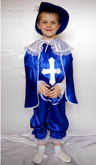 Карнавальный костюм Мушкетёр для детей от 3 до 8 лет