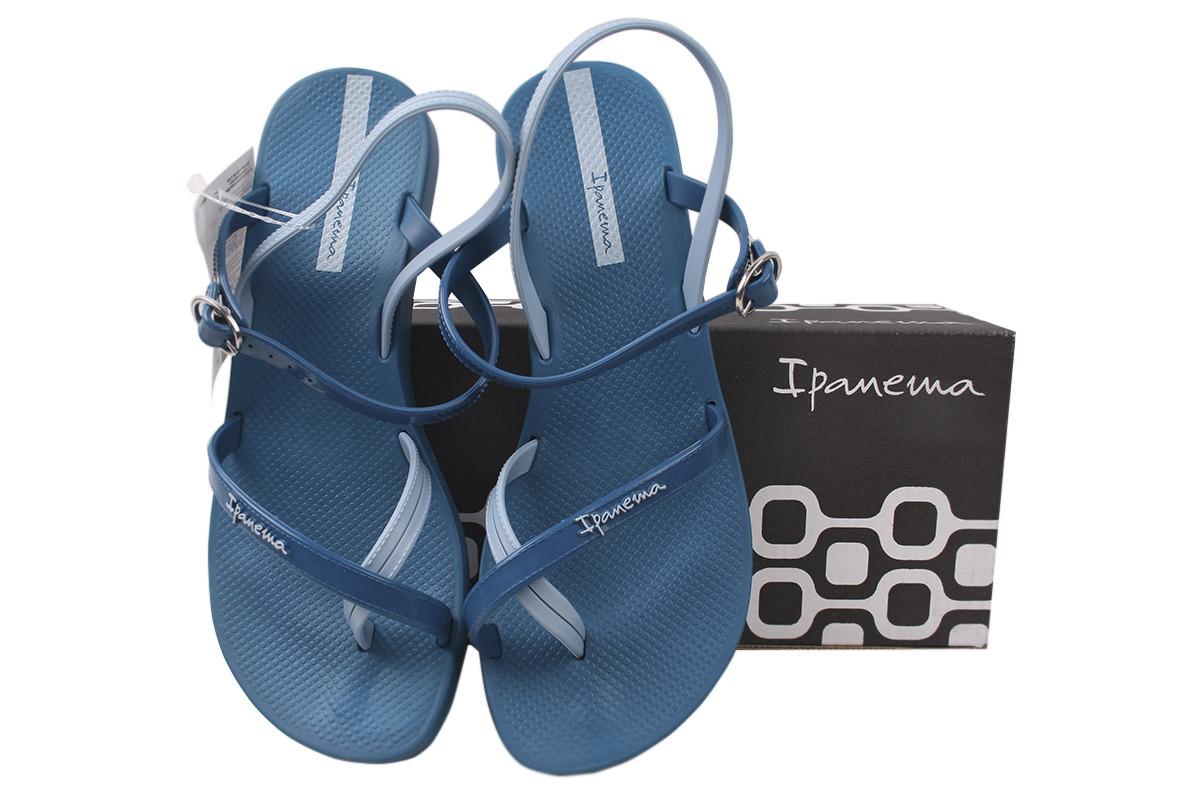 Босоніжки жіночі гумові Ipanema, колір синій Бразилія