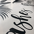 Наклейка на стену Brows and Lashes 2 (брови и реснички, наклейка в кабинет красоты), фото 8
