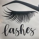 Наклейка на стену Brows and Lashes 2 (брови и реснички, наклейка в кабинет красоты), фото 6