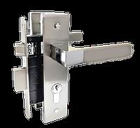 Комплект дверной фурнитуры MVM A-2004 PZ SN/CP