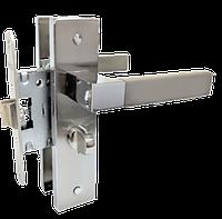 Комплект дверной фурнитуры Linde A-2004 WC SN/CP