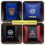 Авто подушка с логотипом, фото 3