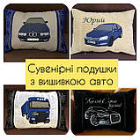Авто подушка с логотипом, фото 9