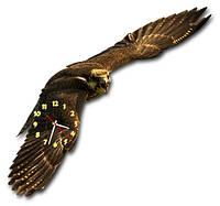 Настенные фигурные часы Хищник 24*90 см