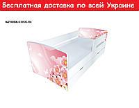 """Ліжко Kinder Cool """" Квіти """""""
