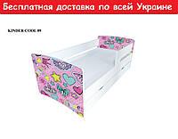 """Кровать Kinder Cool """" Принцесс 2 """""""
