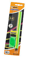 F1-01137, Канцелярский набор BIC Evolution (2 простых карандаша, ластик, точилка)