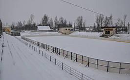 Хокейние і універсальні спортивні майданчики.