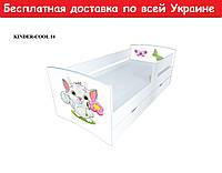 """Кровать Kinder Cool """" Котенок с цветком """""""