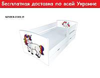 """Кровать Kinder Cool """" Единорог """""""