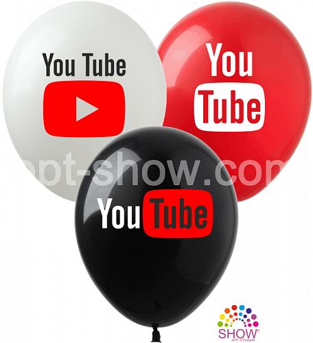 "AS 12"" YouTube ( бел,красн,черн.)"
