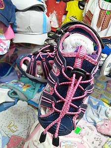 Літні спортивні босоніжки, сандалі для дівчинки з підсвіткою розмір 29 30