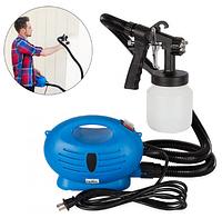 Краскораспылитель Paint Zoom, краскопульт, пульверизатор электрический, профессиональный Paint Zoom