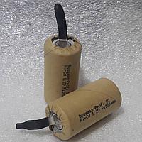 Аккумуляторы для шуруповерта bossman  SC NiCd 1.2v P - 1500mAh 1.2v U