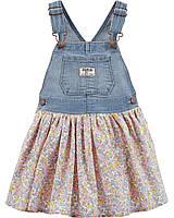Детский джинсовый сарафан для девочки Oshkosh, 2 года