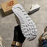 🔥 ВИДЕО ОБЗОР 🔥 Кроссовки New Balance 574 White Leather 🔥 Нью Бэланс 🔥 Нью Беленс мужские кроссовки🔥, фото 2