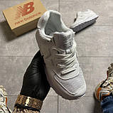 🔥 ВИДЕО ОБЗОР 🔥 Кроссовки New Balance 574 White Leather 🔥 Нью Бэланс 🔥 Нью Беленс мужские кроссовки🔥, фото 3