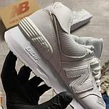 🔥 ВИДЕО ОБЗОР 🔥 Кроссовки New Balance 574 White Leather 🔥 Нью Бэланс 🔥 Нью Беленс мужские кроссовки🔥, фото 7