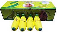 "Іграшка антистрес №1252-1 ""Банан-мордочки"", 12,5 см 4вида уп12"