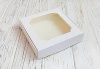 Коробка для сладостей 150*150*30 белая