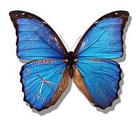 Бабочка - часы настенные фигурные 30*36 см 1