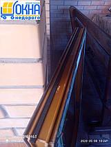 Двустворчатые окна ламинированные в массе, фото 2