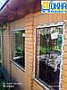 Двустворчатые окна ламинированные в массе, фото 5