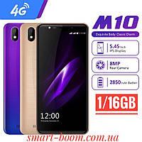 "Смартфон Leagoo M10 Twilight Gold 5.45"" 1/16Gb 4G 2850mAh 2sim+Sdcard Android 8.1"