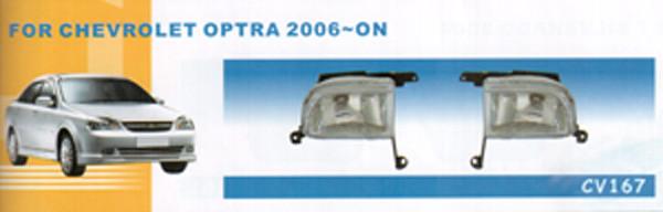 Дополнительные фары противотуманки Chevrolet Laccetti 2006/CV-167 W