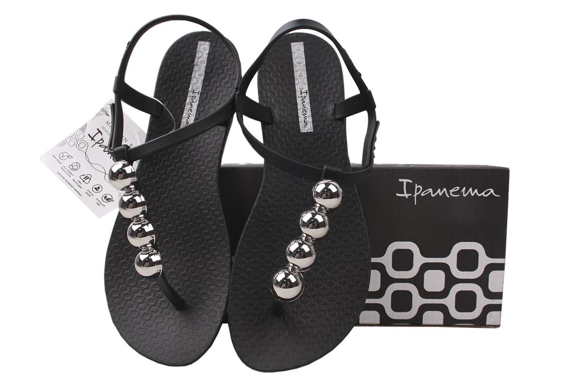 Босоніжки жіночі гумові Ipanema, колір чорний Бразилія
