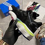 Мужские кроссовки Adidas Originals Torsion X Black, кроссовки адидас оригиналс торсион кросівки Adidas Torsion, фото 6