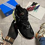 Мужские кроссовки Adidas Originals Torsion X Black, кроссовки адидас оригиналс торсион кросівки Adidas Torsion, фото 3