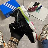 Мужские кроссовки Adidas Originals Torsion X Black, кроссовки адидас оригиналс торсион кросівки Adidas Torsion, фото 2