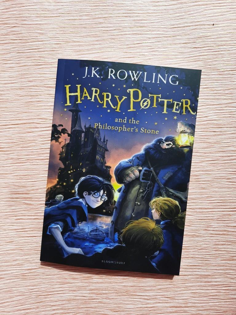 English Ролинг т.1 Гарри Поттер и философский камень Harry Potter and the Philosopher's Stone
