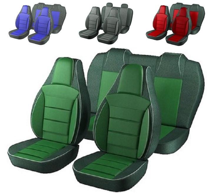 Чехлы сидений Ваз 2112 Зеленые