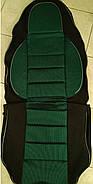 Чехлы сидений Ваз 2112 Зеленые, фото 4