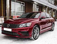 Дефлекторы окон (Ветровики) Volkswagen Passat B8 2016- (Американец)