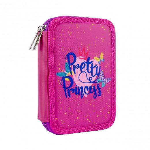 Пенал твердый SMART двойной HP-01 Pretty Princess