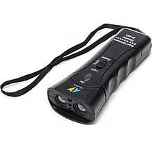 Ультразвуковой отпугиватель собак с фонариком Zf-853e