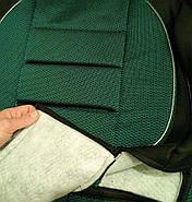Чехлы сидений Ланос Зеленые, фото 6