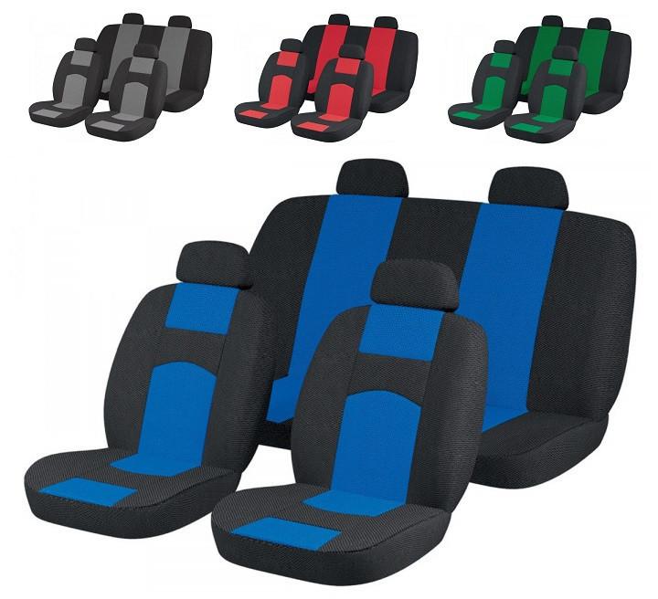 Чехлы сидений Ваз 21099 Синие