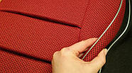 Чехлы сидений Славута Красные, фото 2