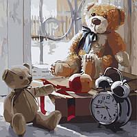 Картина по номерам  Игрушки детства ТМ Идейка 30 х 30 см КНО2333, фото 1