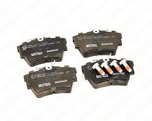 Дисковые тормозные колодки (задние) на Renault Trafic II 2001->2014 — Renault (Оригинал) - 8660004446