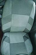 Авточохли Dacia Logan MCV 5 місць з 2006 р поділена сірі, фото 2